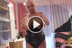 emilia boshe oiled and massaged